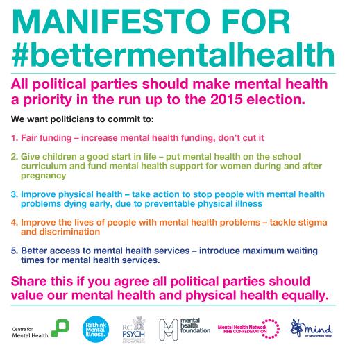 MANIFESTO FOR #bettermentalhealth