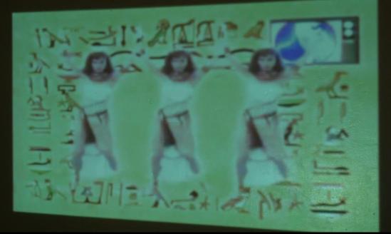 Asparagasm Video Projection Design