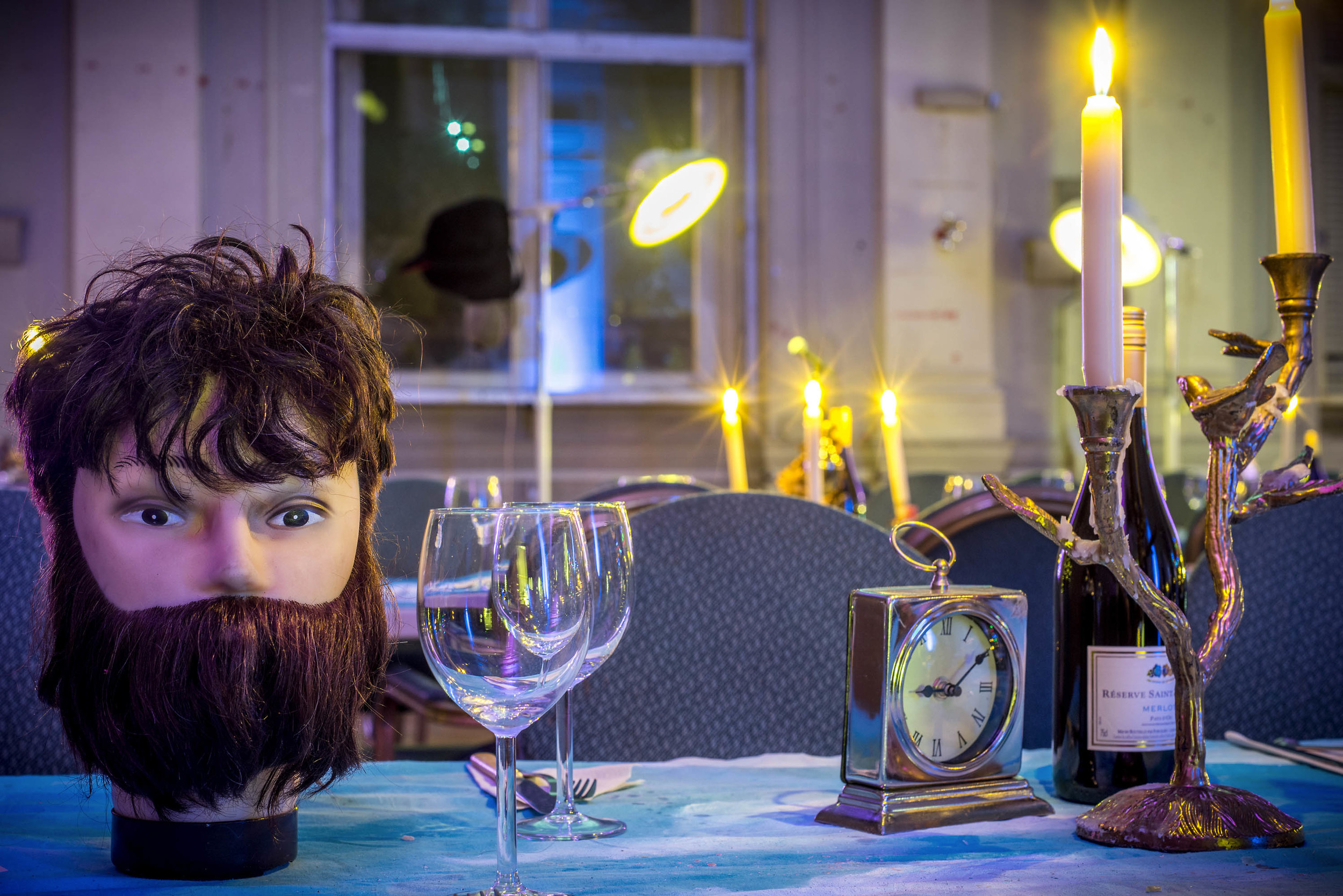 Surrealist Dinner Party Table Decoration