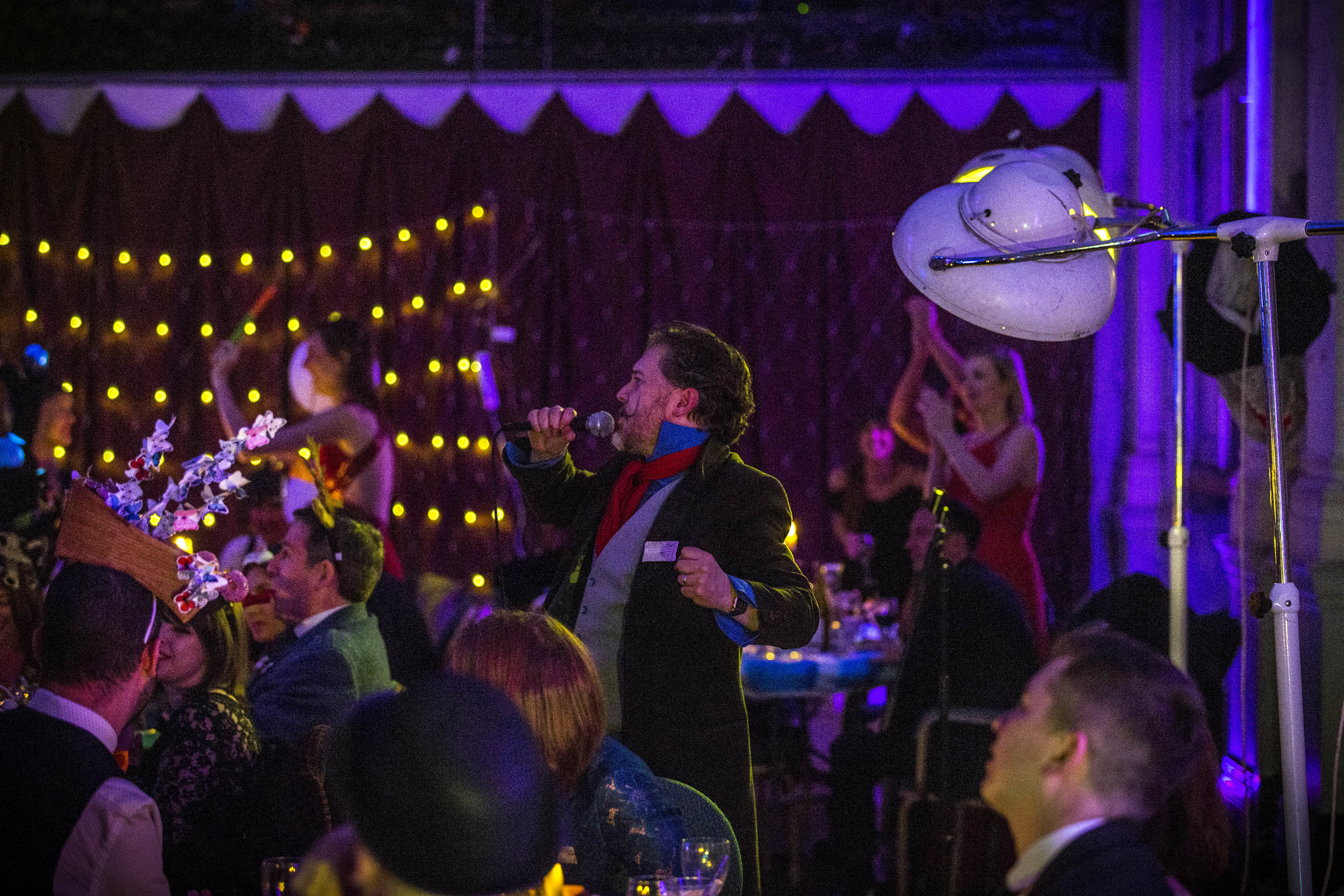 Surrealist Dinner Party Performance