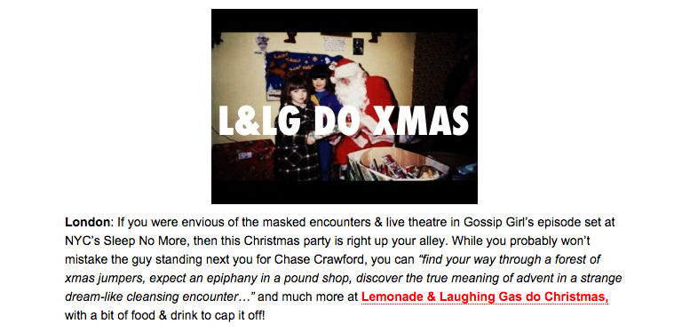 L&LG Do Xmas Feature