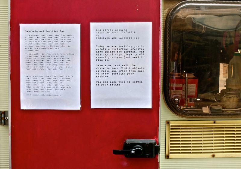 Living Archive Treasure Hunt Base (Portable Joy Caravan)