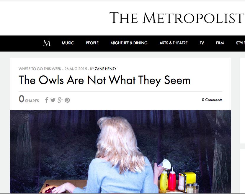 Metropolist Interview
