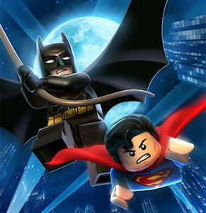 """Batman y Superman versión lego para """"The Lego Movie"""""""