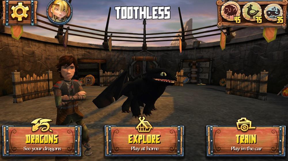 Captura de pantalla de Dreamworks Dragon Adventure World