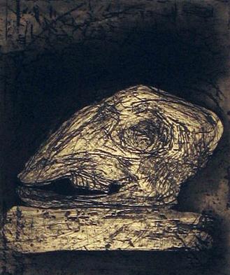 Untitled (sheep skull)