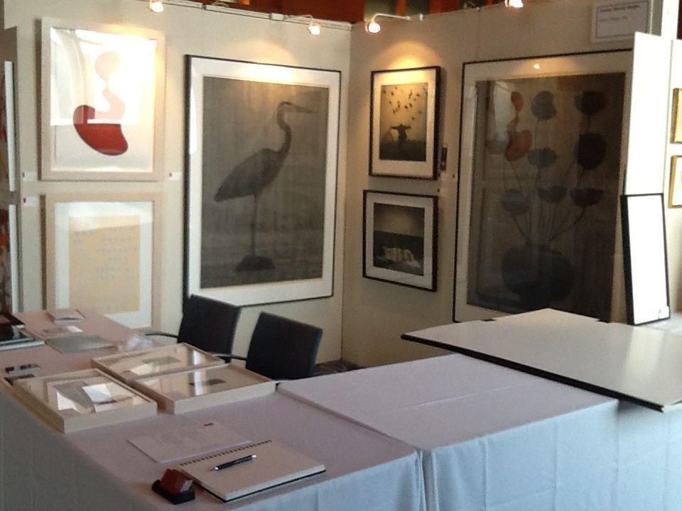 An installation photo from the 2012 Select Fair in Miami, Florida.