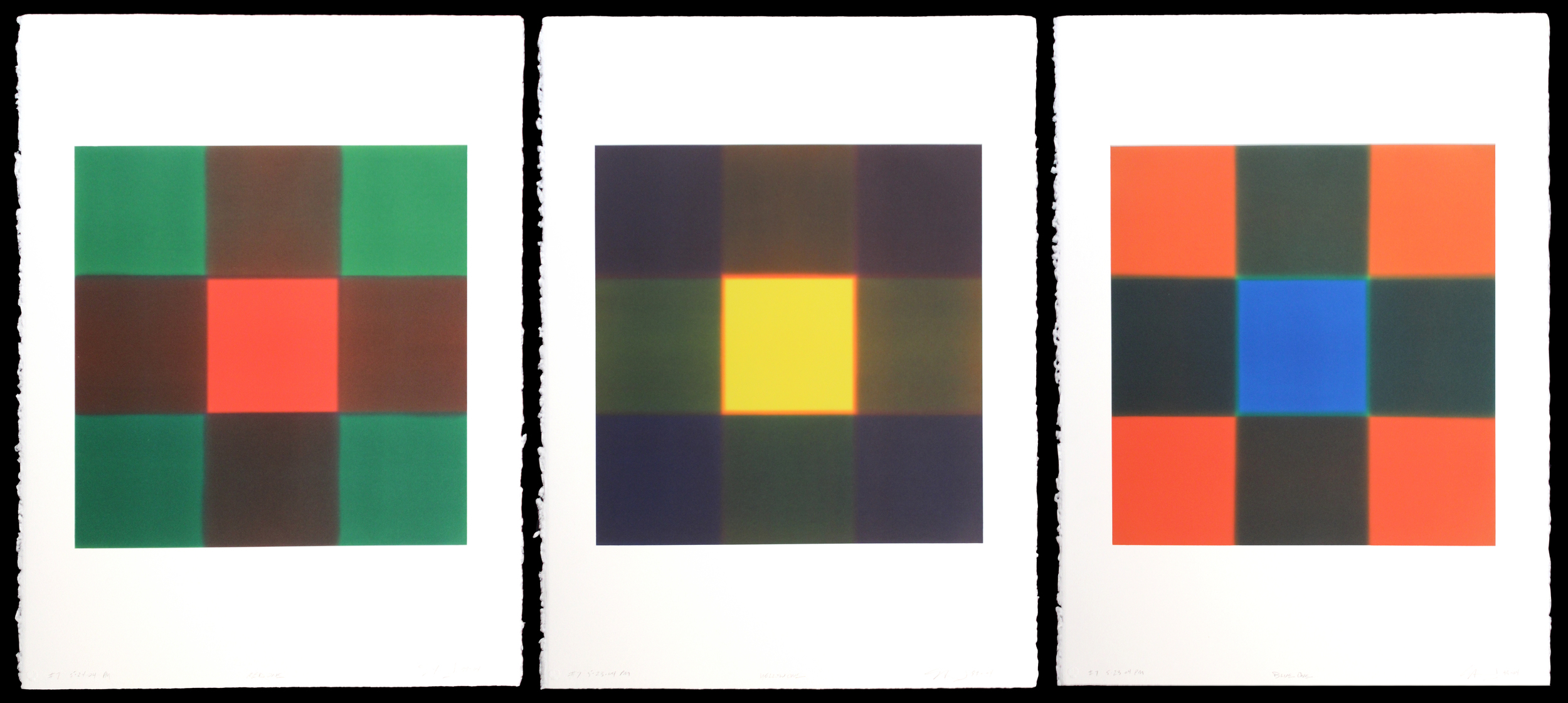 One Series (Red One, Yellow One, Blue One)