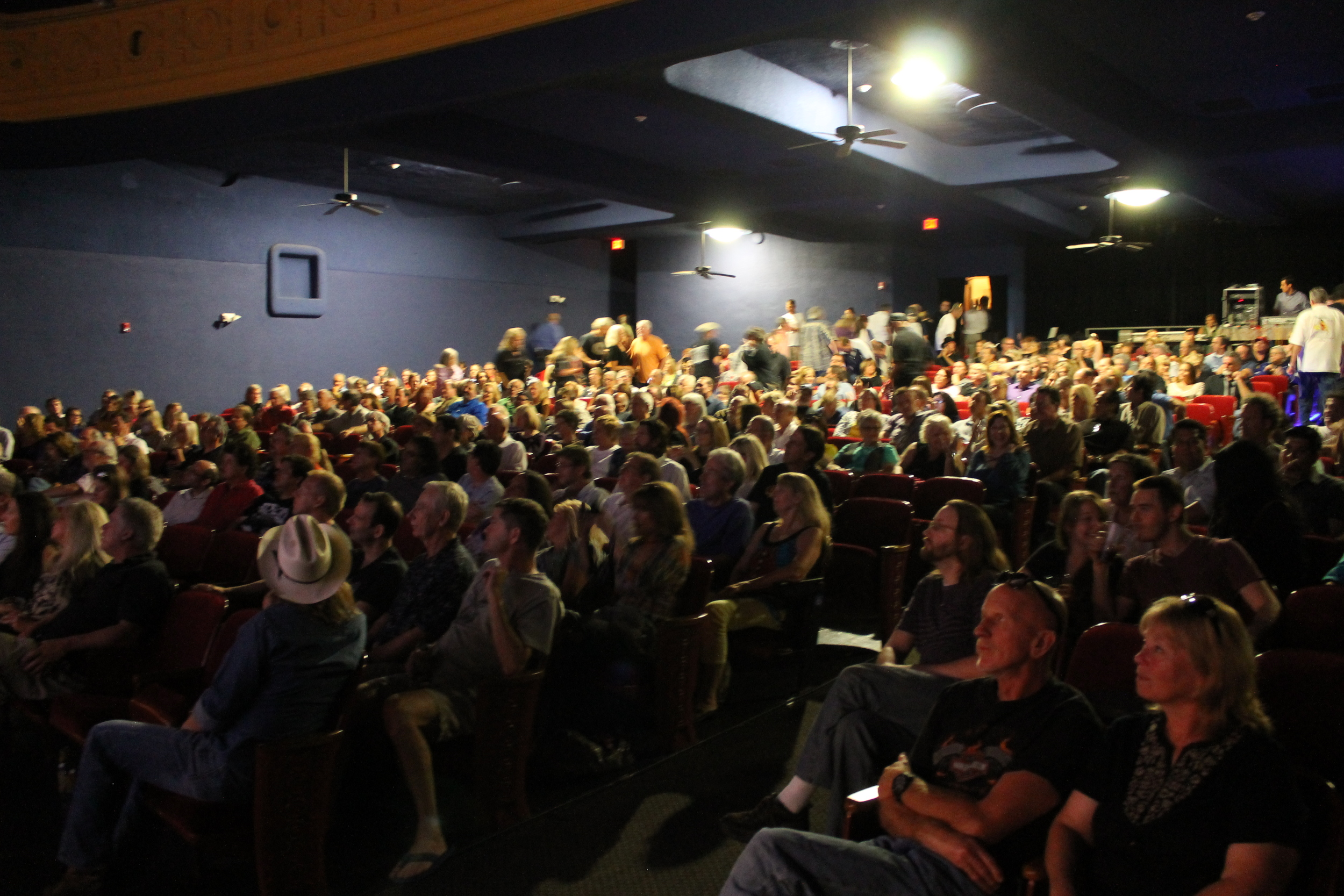 A full house, over 600 people, in the Texas Theatre for the September premiere!!!