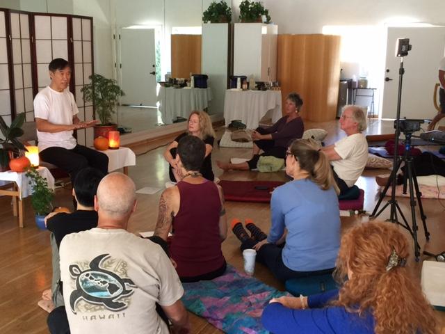 Sheng Zhen Center for Self-Healing in Santa Barbara, 2016