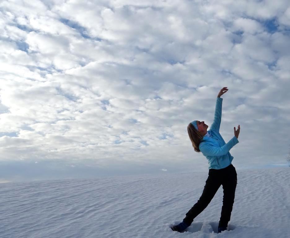 Student in Austria practices Second Movement: Traveling Eastward Across the Ocean