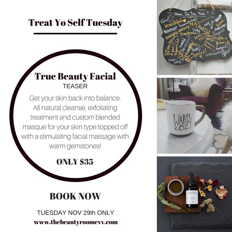 Treat yo self | The Beauty Room Evansville