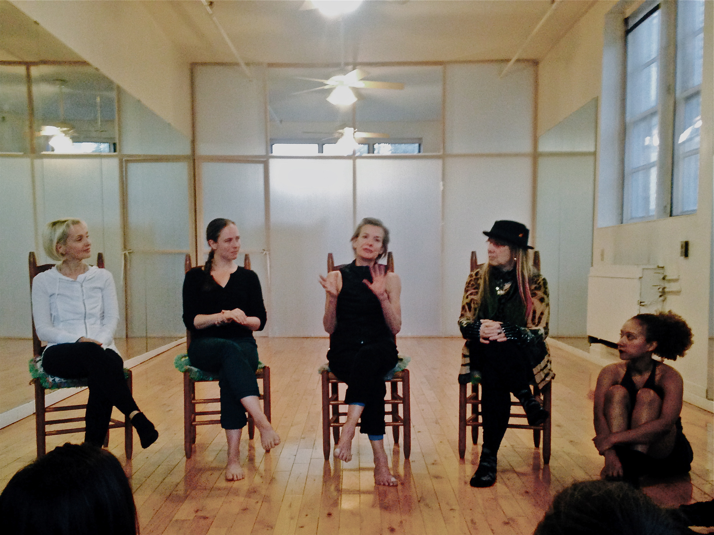 November Salon with Special Guest Molissa Fenley