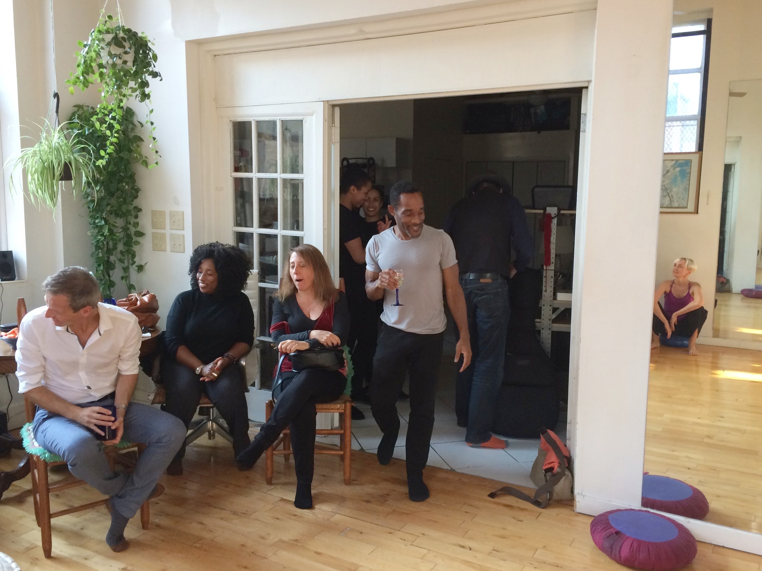 October 2016 Salon with Nathan Trice