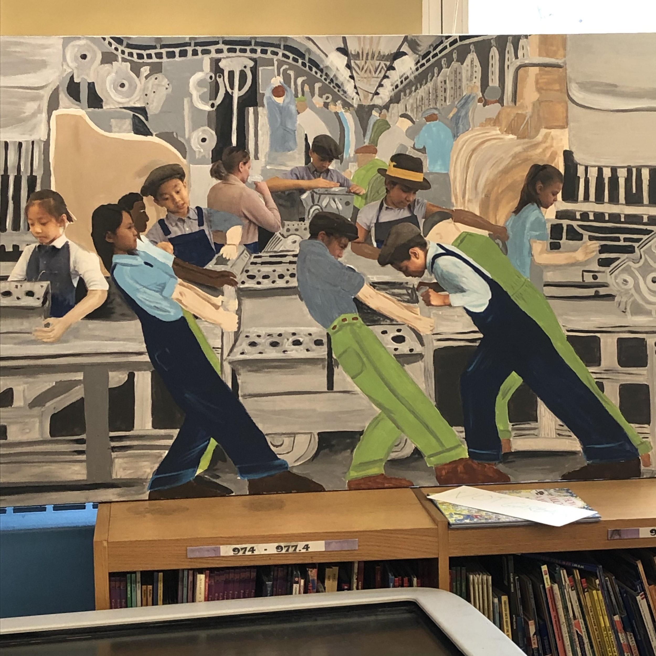 P.S. 142 Workshop in library, May 1, 2019