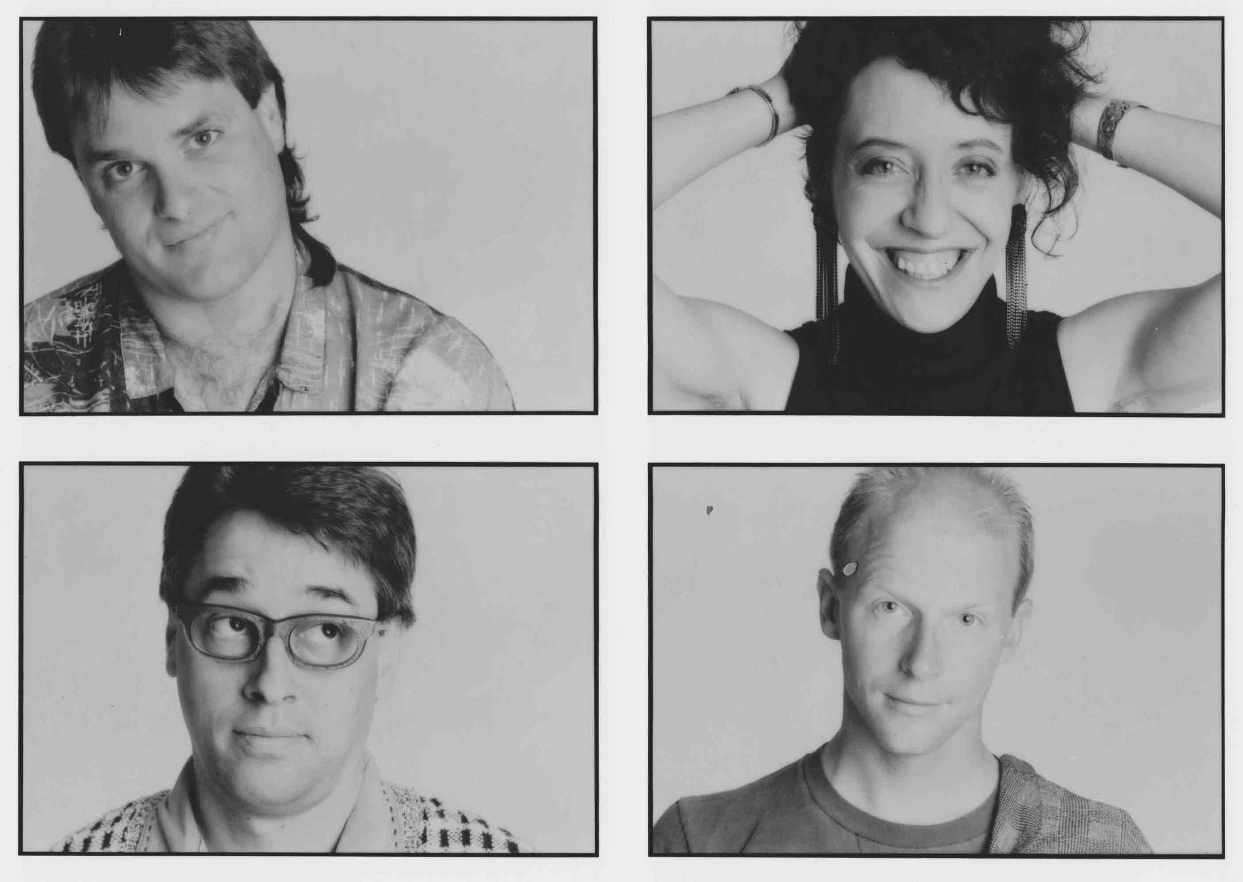 Matthew, Janie, Richard, Gunnar - 1982 - 89.