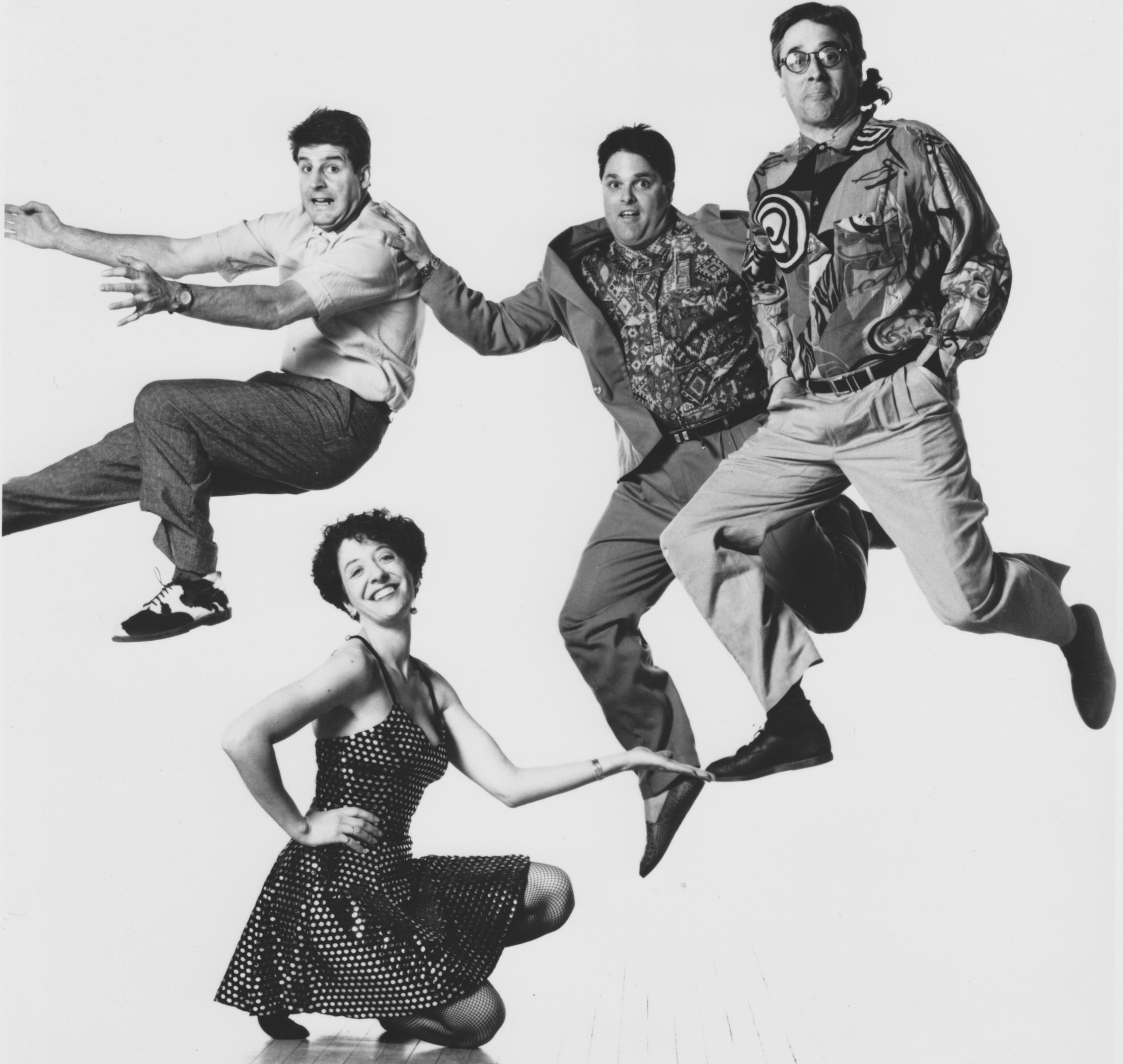 Joe, Janie, Matthew, Richard - 1991 - 96. photo: Lois Greenfield