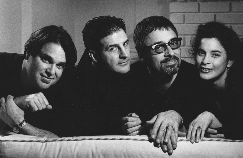 Matthew, Joe, Richard, Lori - 1997-98, Photo: Kate Kline May