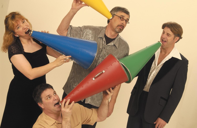 Amy, Matthew, Richard, Joe - 1998 - 2003.Photo: Dana Neely