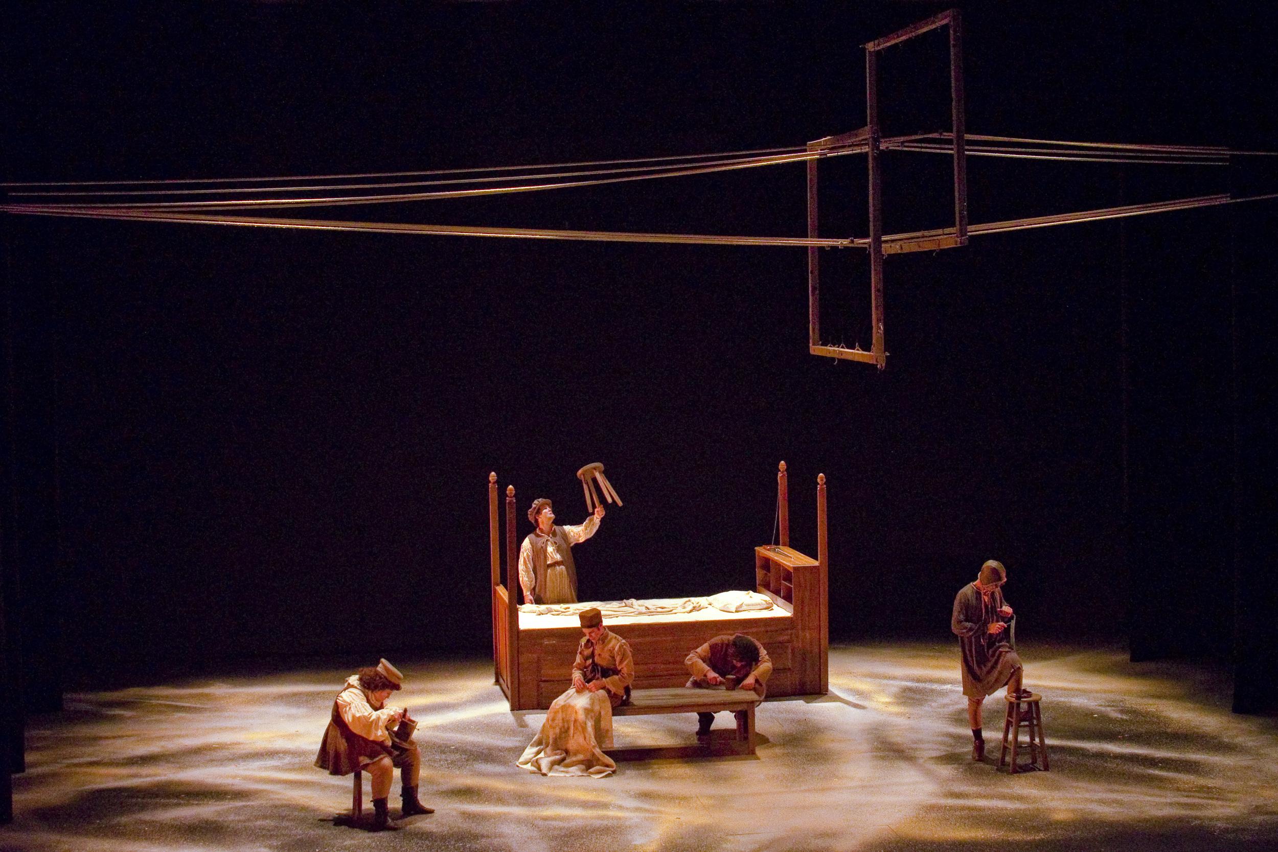 A Midsummer Night's Dream, Scenic Design, Purdue Theatre, 2012