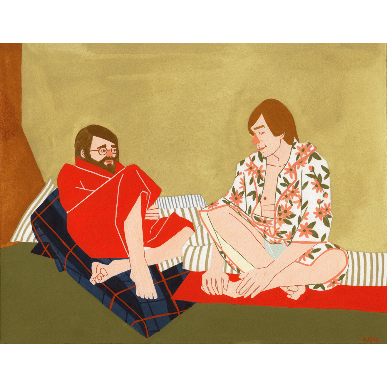 <i>Quilted Conversation</i>