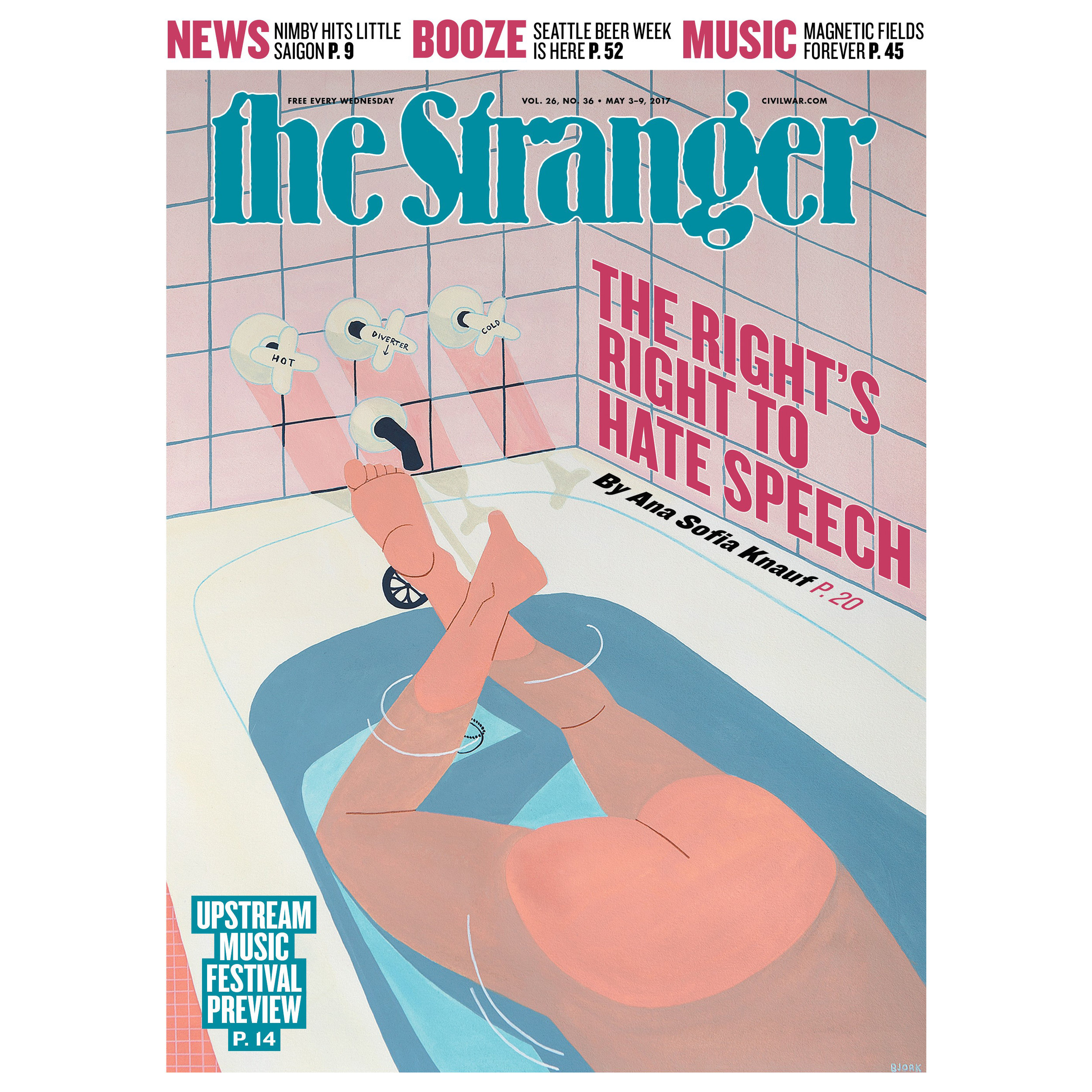 The Stranger Volume 26, Issue 36 May 201  7