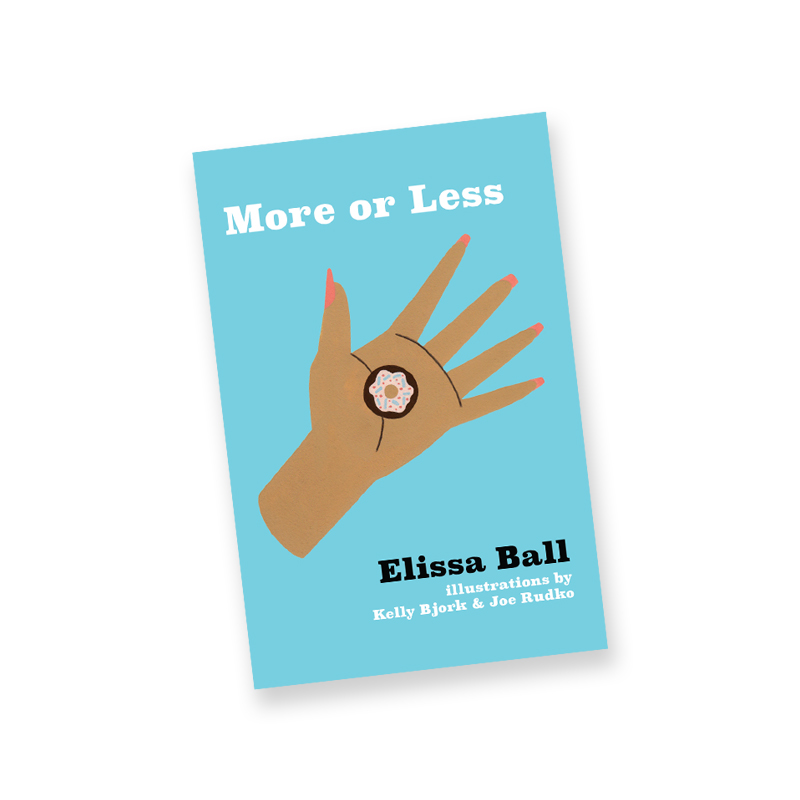 More or Less by Elissa Ball Cover illustration + spot illustrations 2018