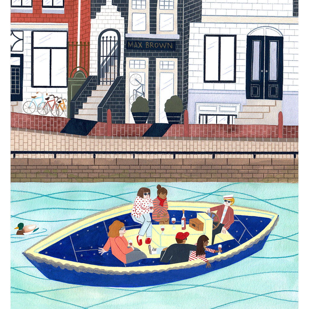 Illustrations for  Max Brown Hotels  2019