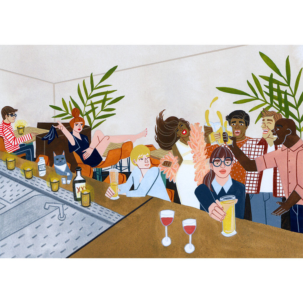Illustrations for  Max Brown Hotels  2018