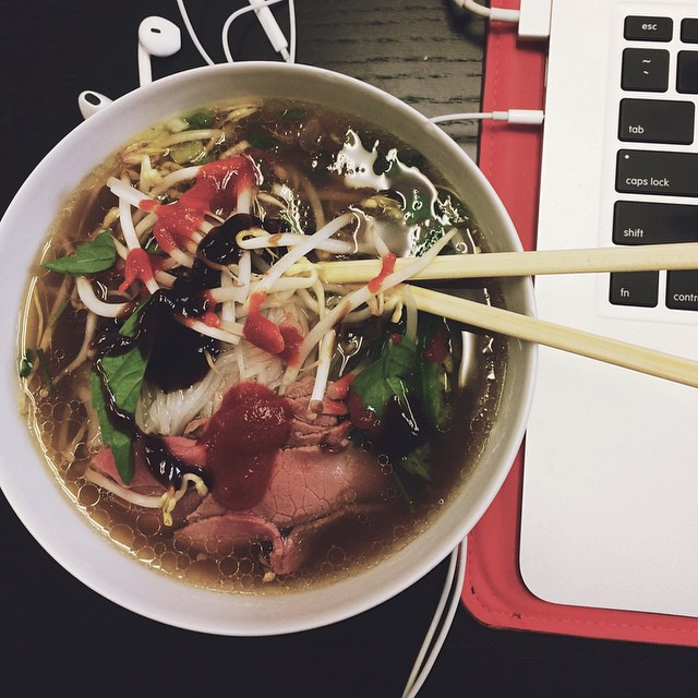 #hungergrams day 27: #spicy pho by @brookeand #phoreal #phoever