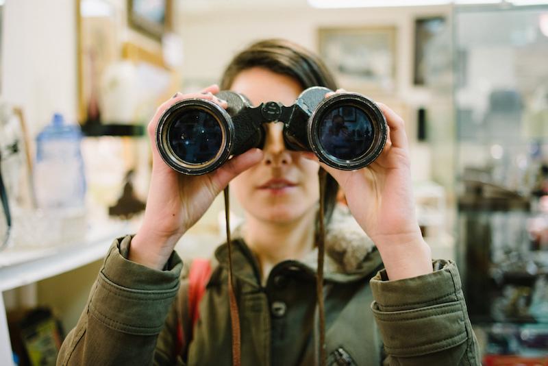 """ Binoculars 4 "" by  Chase Elliott Clark  is licensed under  CC BY 2.0"