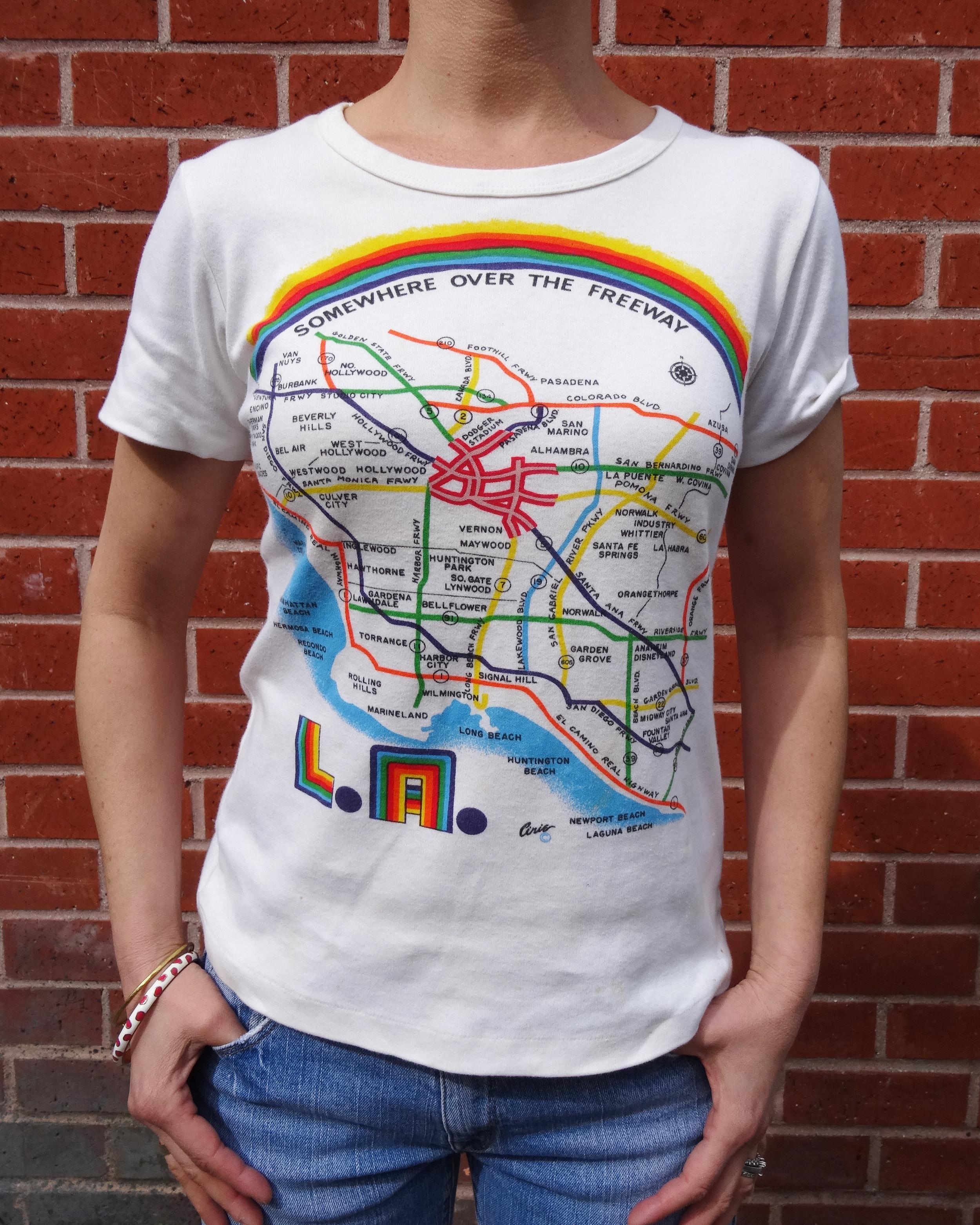 VIntage LA tee shirt
