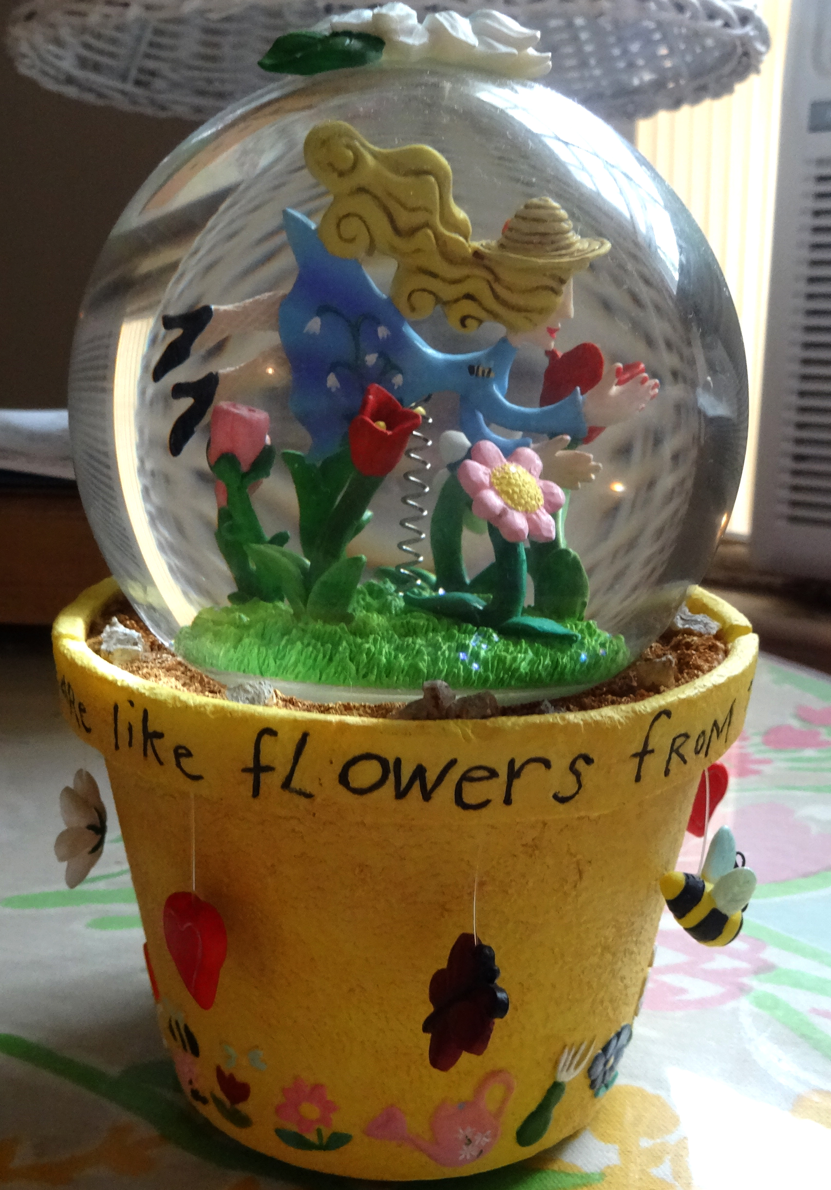 From the snow globe collection
