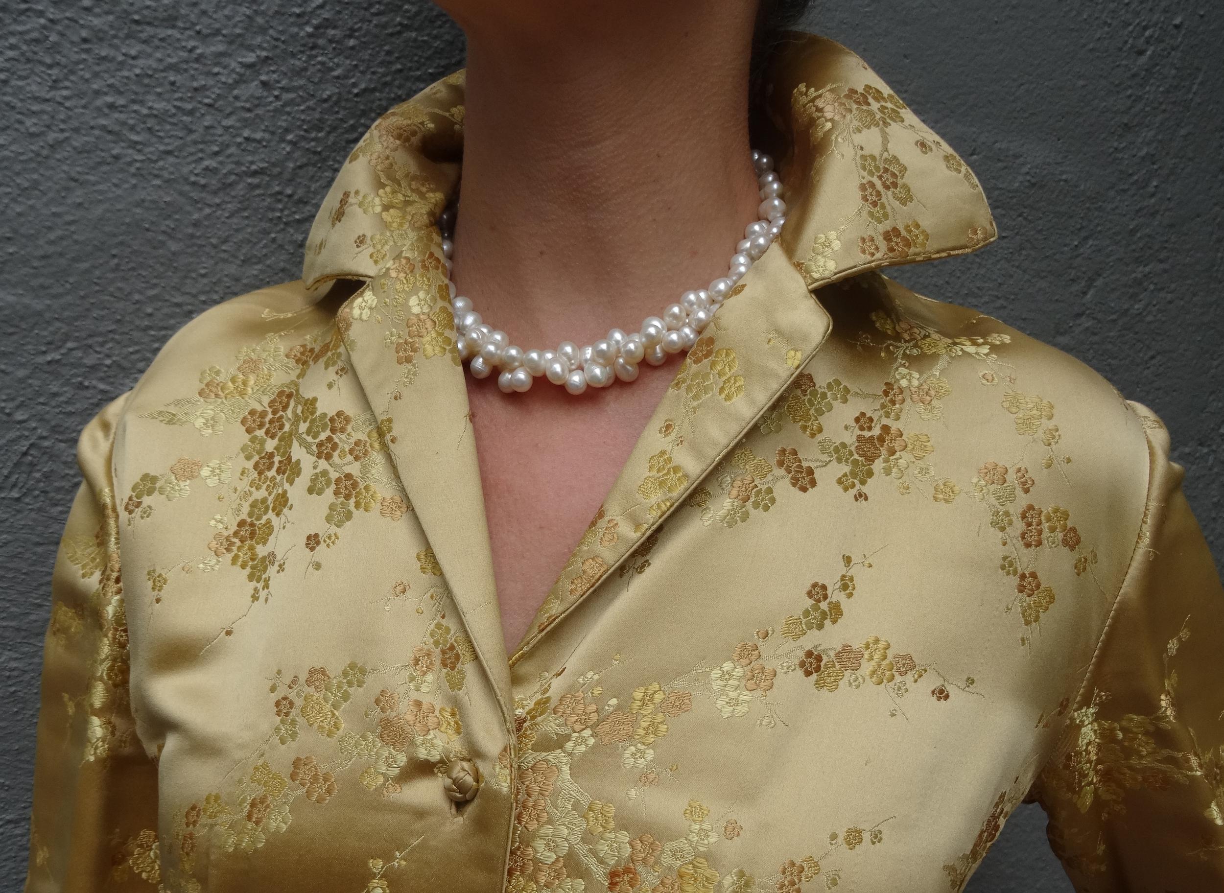 Gay Boyer Pearl Twist necklace