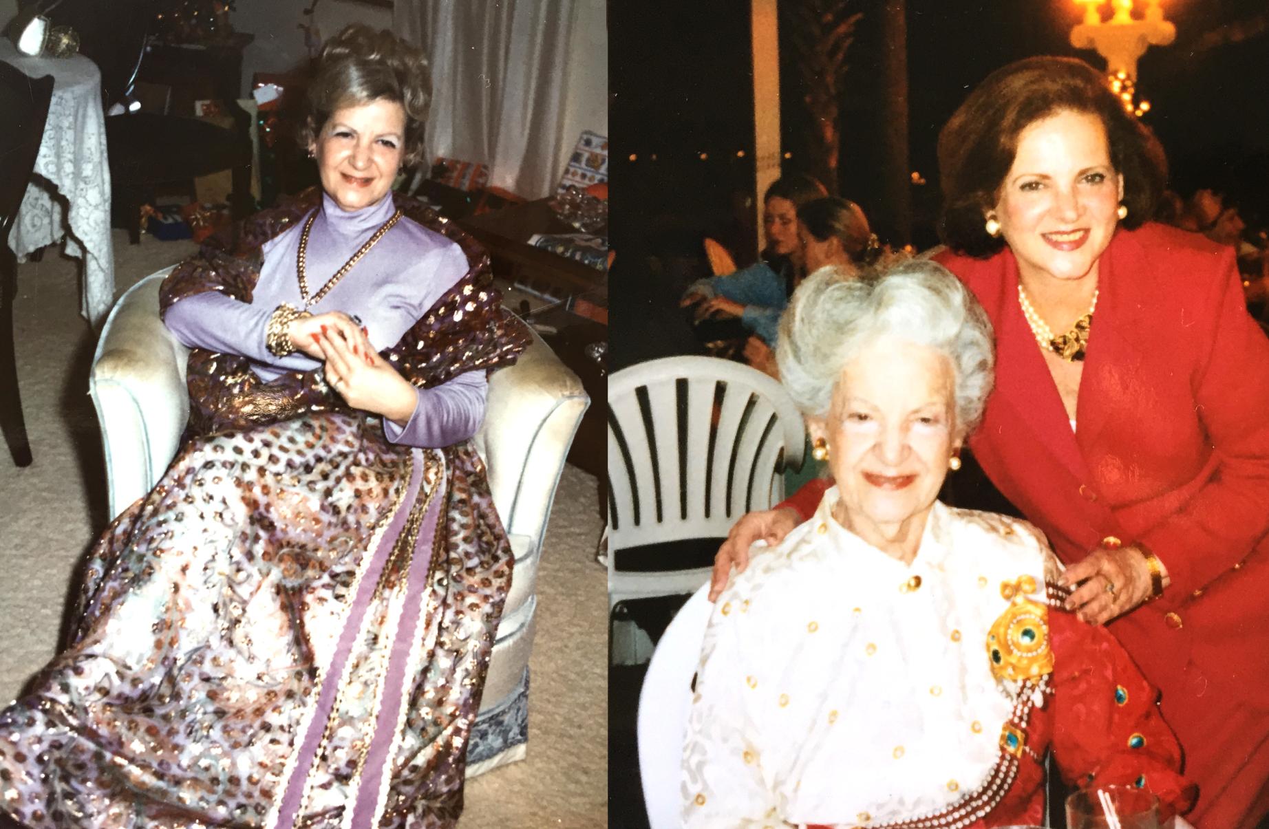 Grandma Dorothy Tasman & Carole Lawrence 1972 & 1995