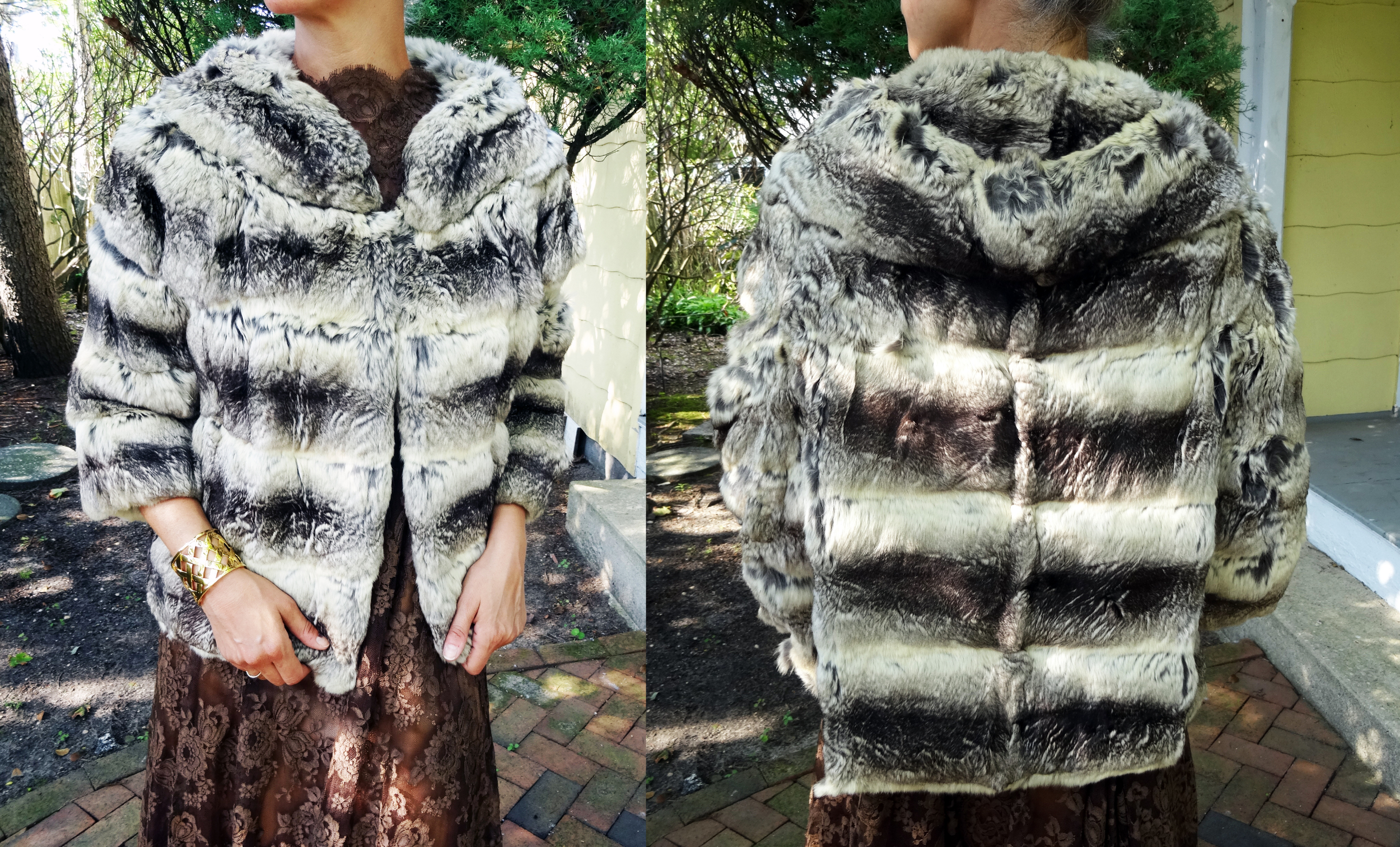 Vintage Chinchilla jacket