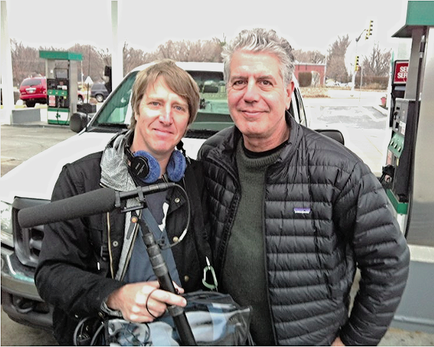 Travel Network: Anthony Bourdain and me.