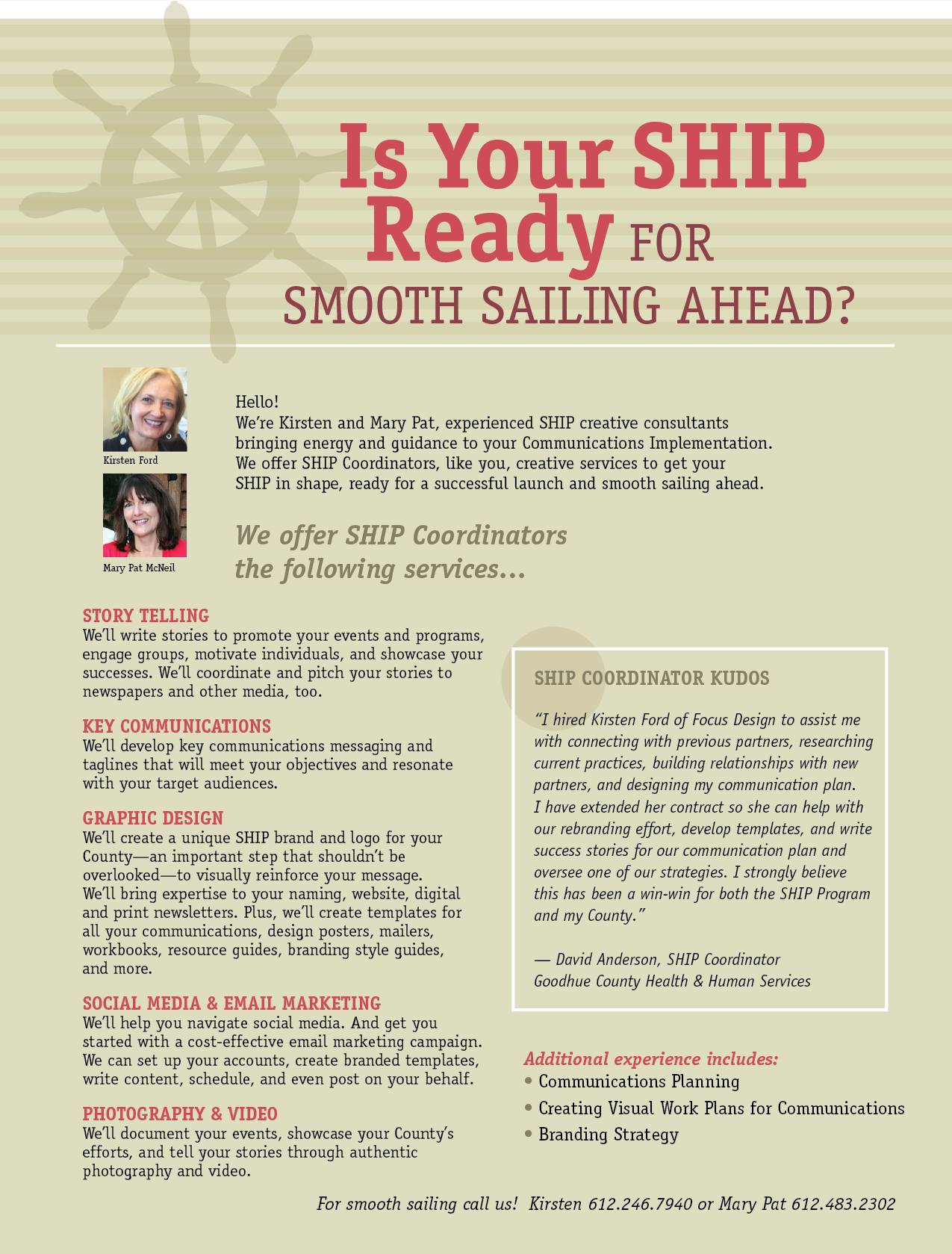 Is your SHIP ready for smooth sailing ahead?