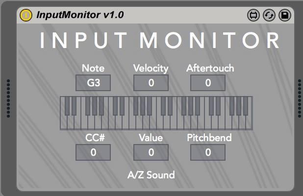 InputMonitor  - Interface