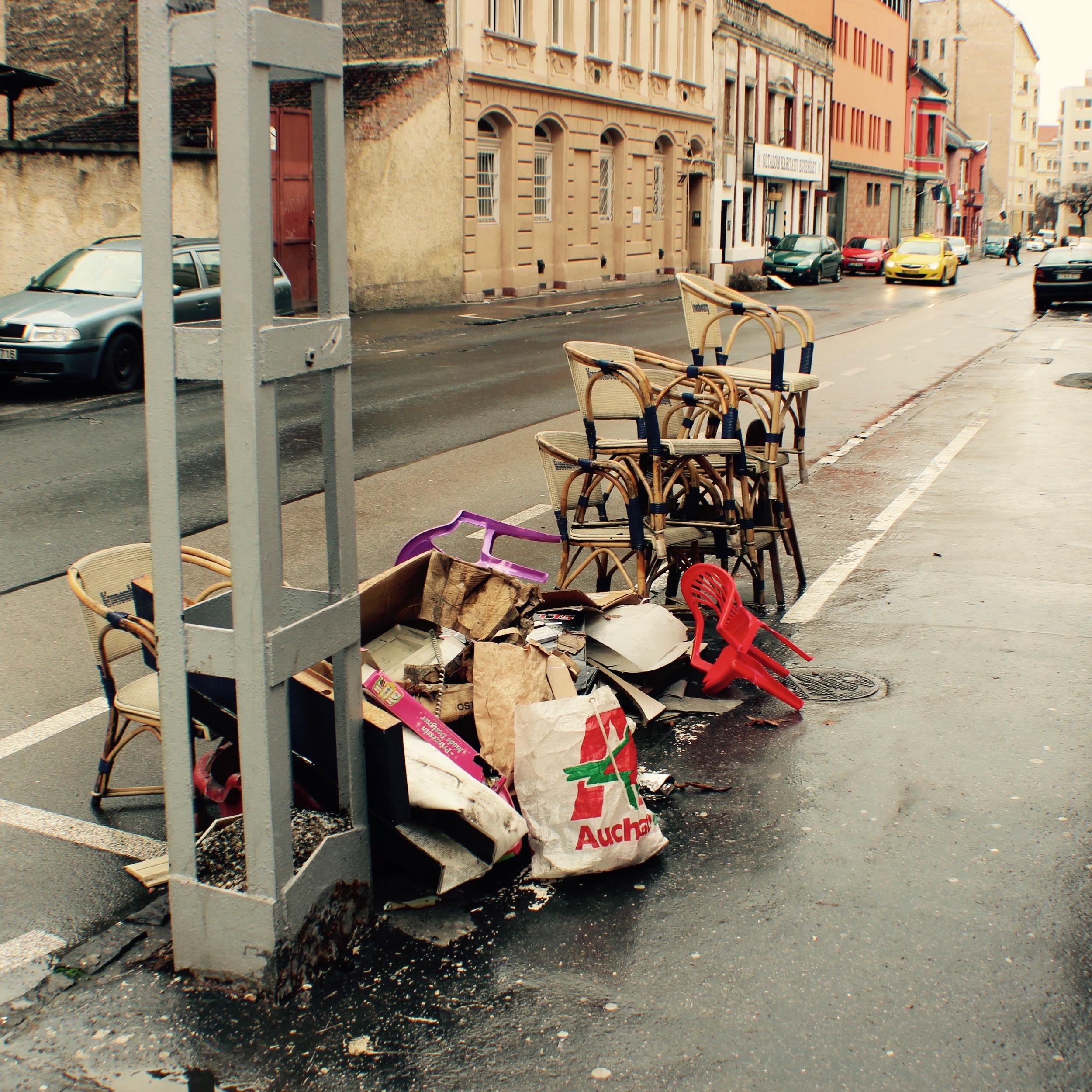Pile # 3, Danko Street.