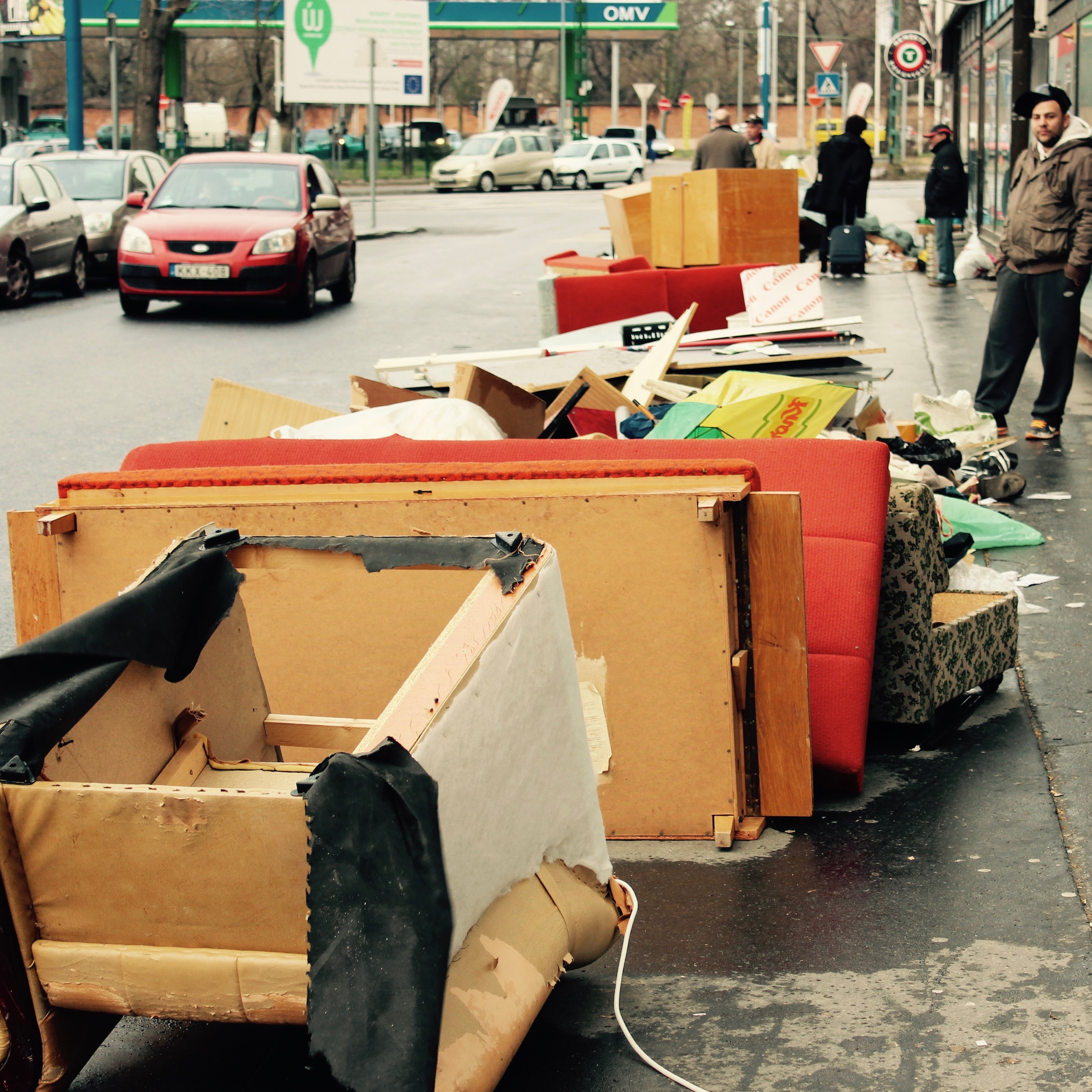 Pile # 8, Szerdahelyi Street.