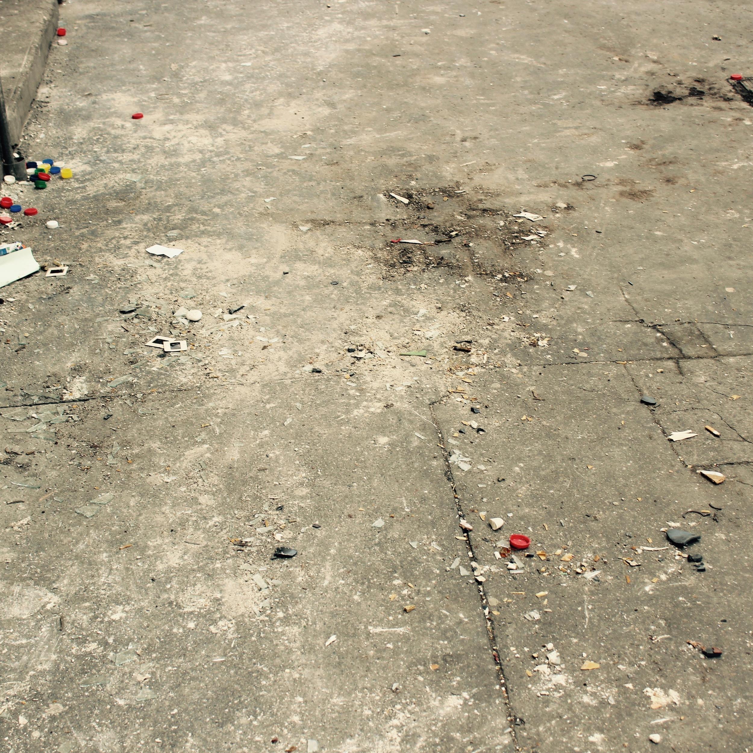 Remains of a pile #1, Szerdahelyi Street.