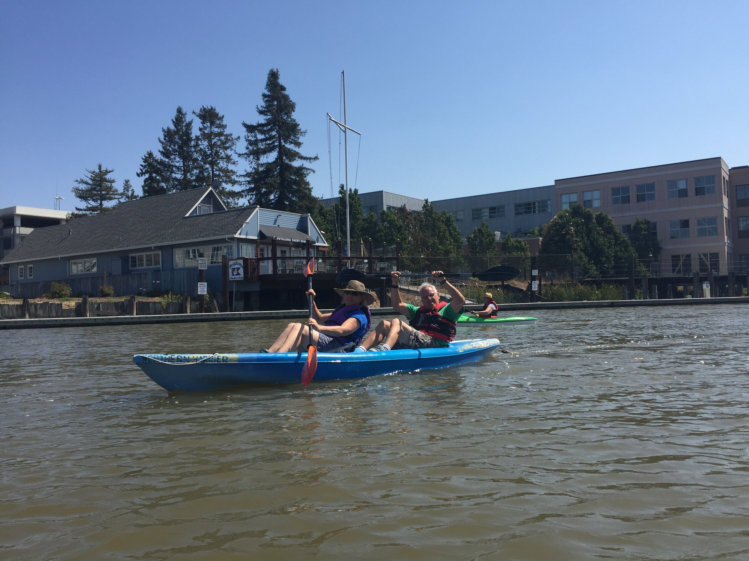 At Friends of the Petaluma River, we believe that recreation is celebration!