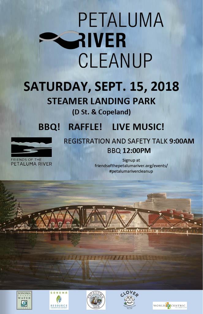 Fall Petaluma River Cleanup - 2018