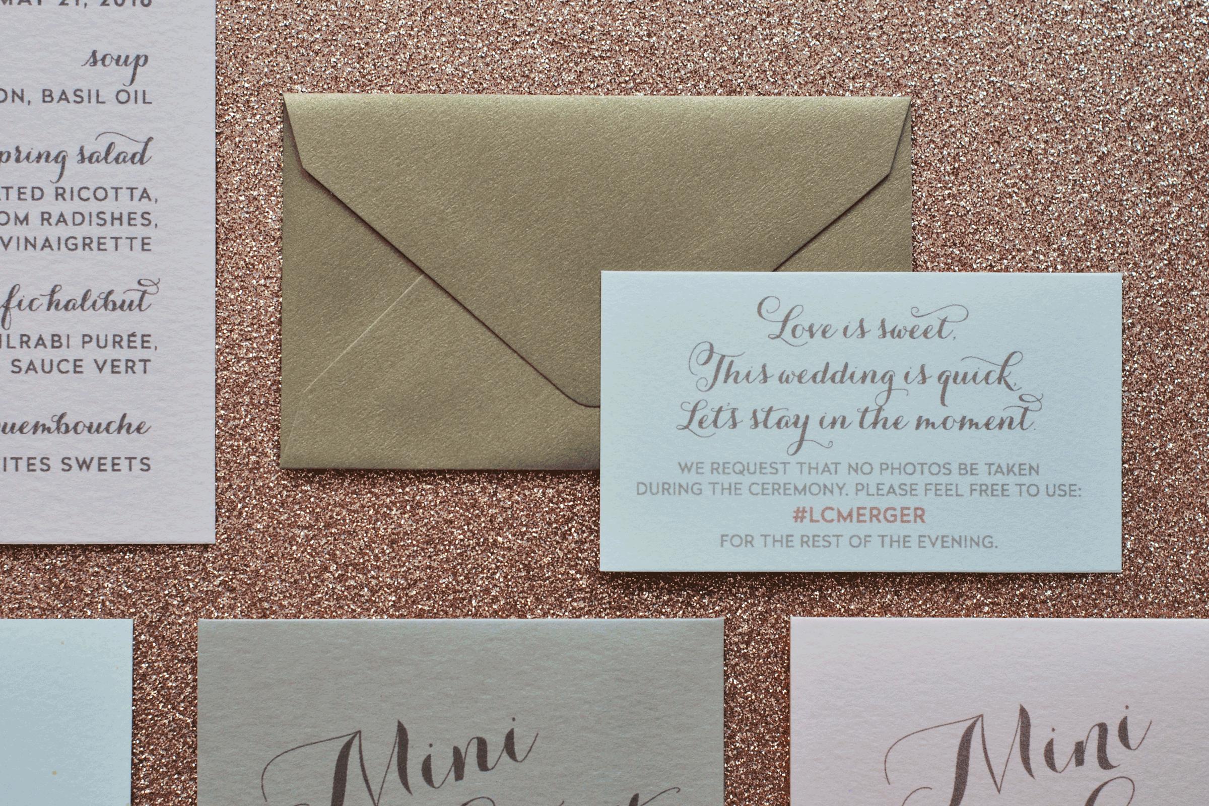 Hashtag Note with Mini Envelope