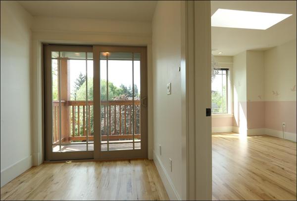 Hallway and balcony - upper level