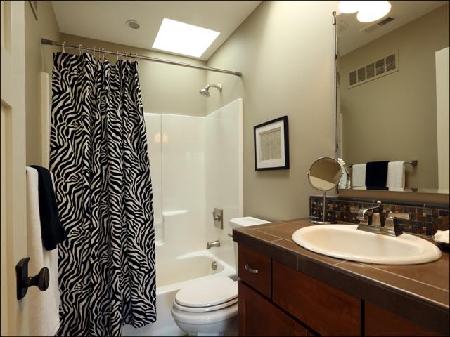 Hall bath - upper level