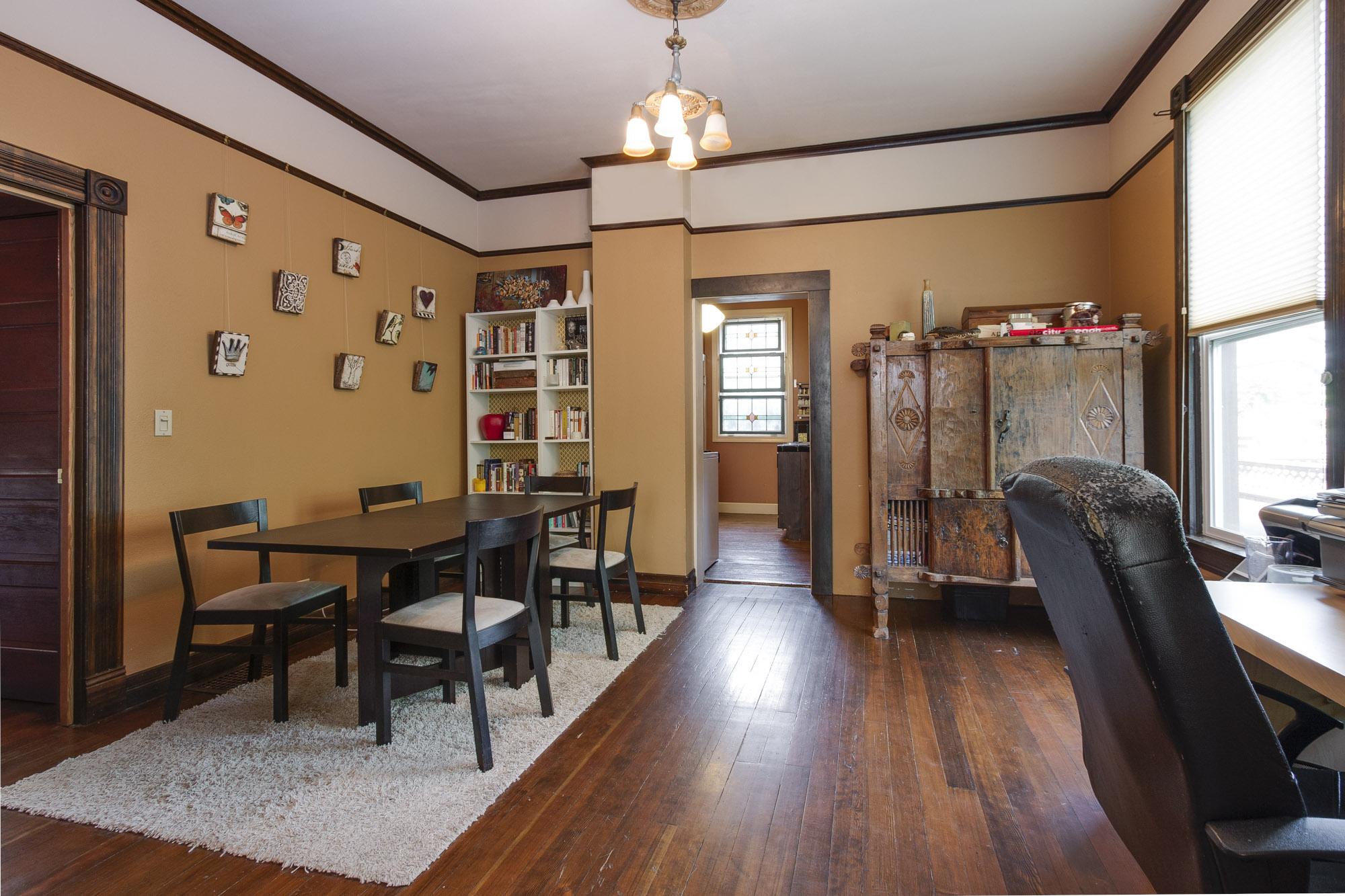 main floor dining/ office