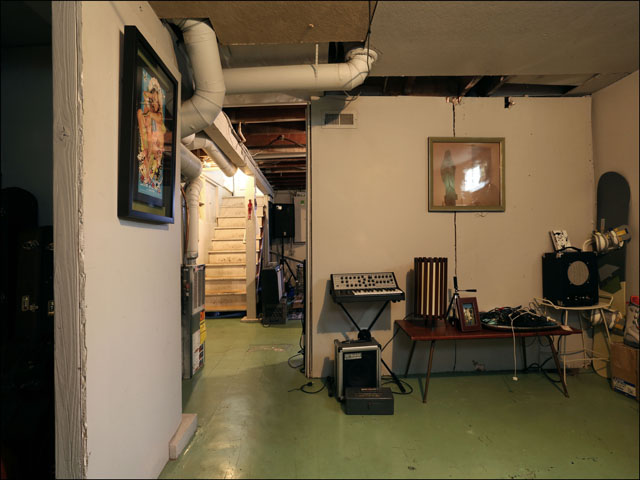 Plenty of room in the basement for storage or adding living space.