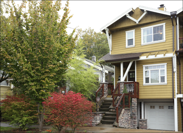 3817 SE Salmon St. - Townhouse with apt.  SOLD $599,000